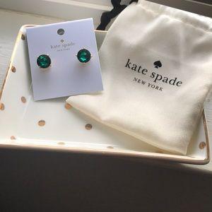 Kate Spade Emerald Earrings